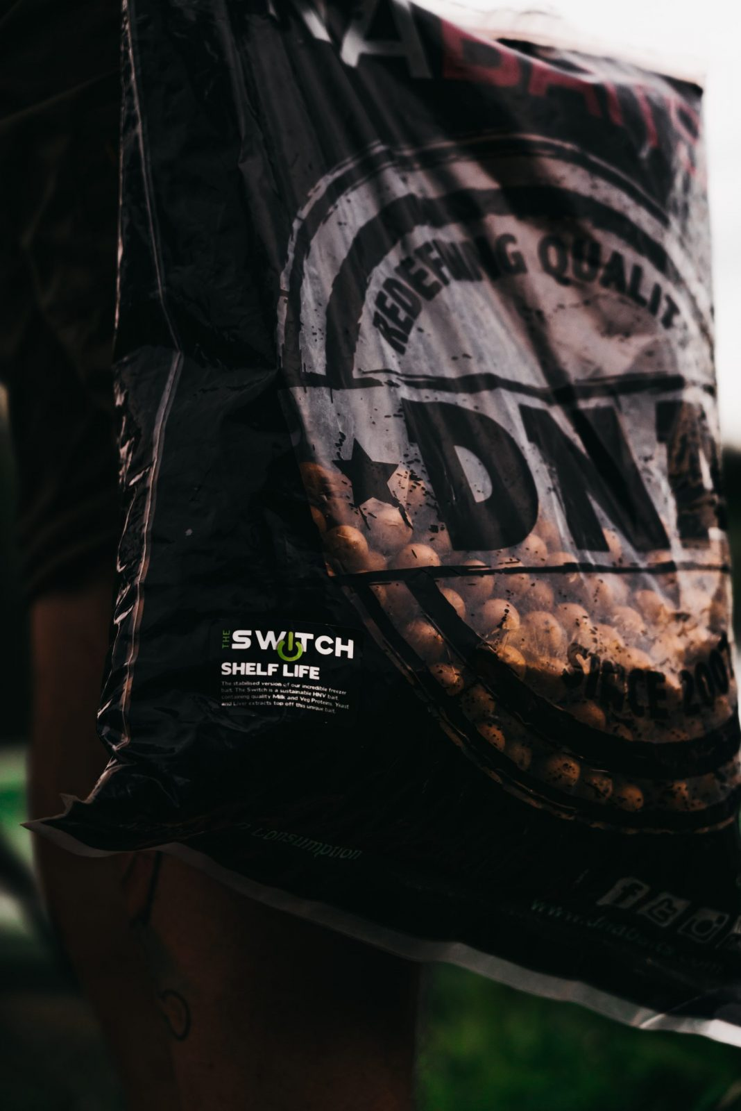 DNA Baits The Switch Freezer Bait Bags 5KG *All Sizes* NEW Fishing Bait